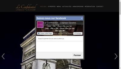 Site internet de Confidentiel