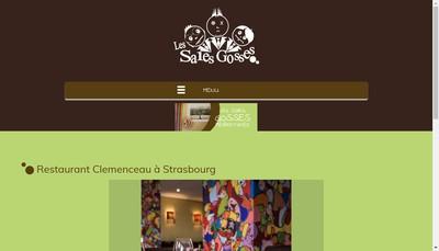 Site internet de Les Sales Gosses