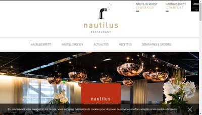 Site internet de Oceania Paris Roissy Cdg Nautilus Restaurant
