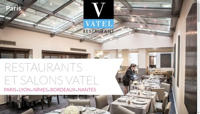 Site internet de Restaurant Vatel