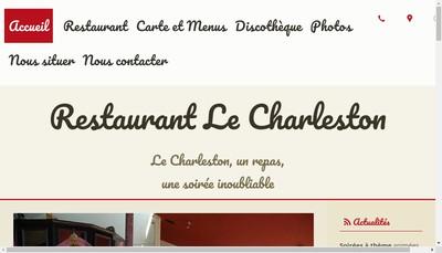 Site internet de Le Charleston