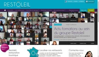 Site internet de Tempobac Restoleil