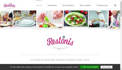 Site internet de Restonis