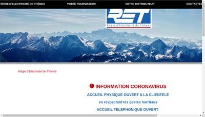 Site internet de Retprod