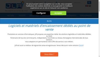 Site internet de Jlr Distribution