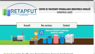Site internet de Retapfut