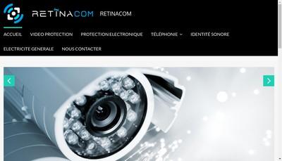 Site internet de Retinacom