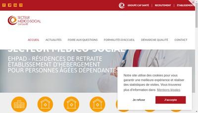 Site internet de Les Jardins de la Fontaine