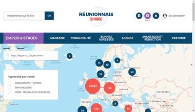 Site internet de Reunionnais du Monde