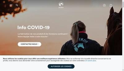 Site internet de Espace Reverdy