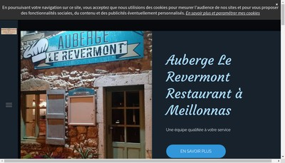 Site internet de Auberge du Revermont