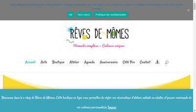 Site internet de Reves de Momes