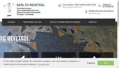Site internet de FC Revetsol
