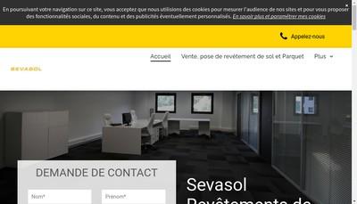 Site internet de Sevasol