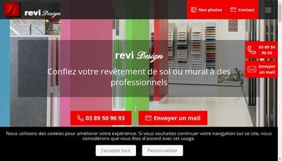 Site internet de Revi-Design