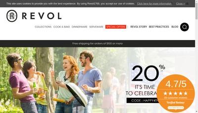 Site internet de Revol Porcelaine SA