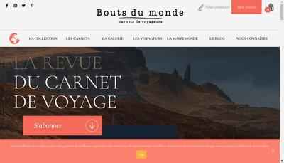 Site internet de Bouts du Monde Editions