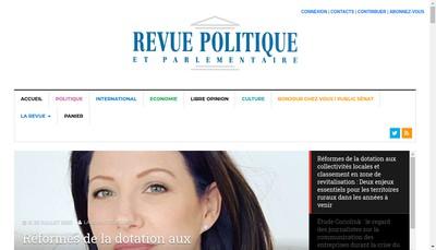 Site internet de RevuePolitique