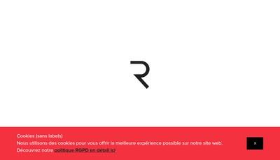 Site internet de Reynders Etiquettes France
