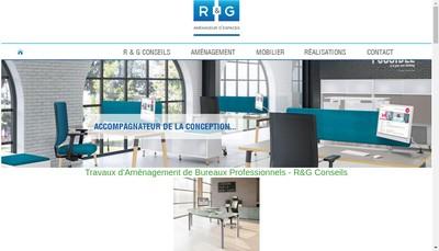 Site internet de R & G Conseils