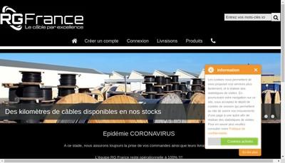 Site internet de Rg France