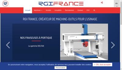 Site internet de Rgi France