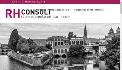 Site internet de Rh Consult