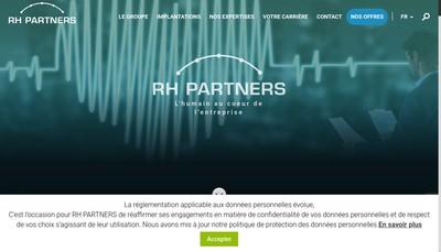 Site internet de Rh Partners