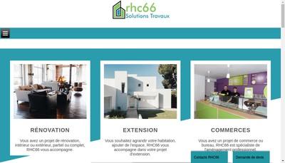 Site internet de Roussillon Habitat Conseil