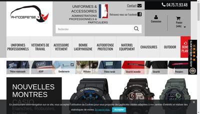 Site internet de Rhinodefense