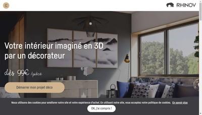 Site internet de Rhinov