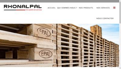 Site internet de Rhonalpal