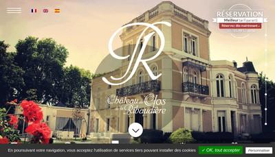 Site internet de Le Clos de la Ribaudiere