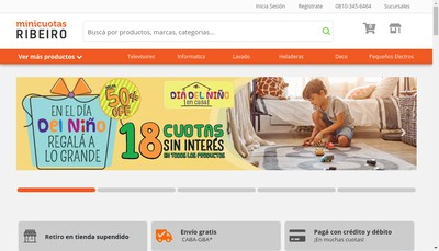 Site internet de Societe Ribeiro-Cheron
