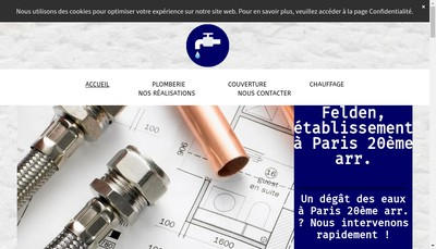 Site internet de Riboux - Felden
