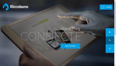 Site internet de Riccobono