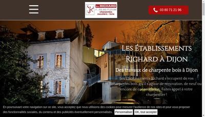 Site internet de Societe Etablissements Richard