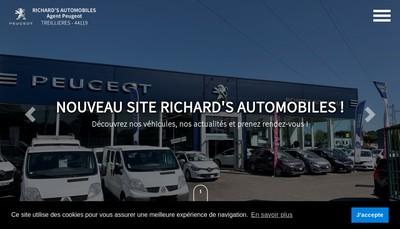 Site internet de Richard'S Automobiles