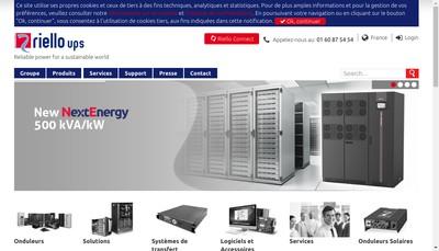 Site internet de Invertomatic France Ecta