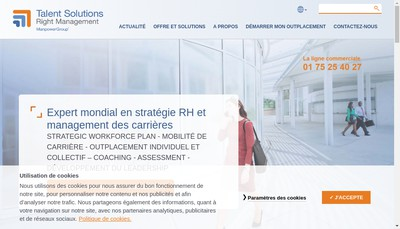 Site internet de Right Garon Bonvalot-Right Management