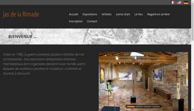 Site internet de Jas de Rimade