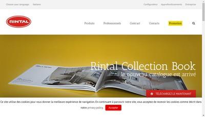 Site internet de Valef