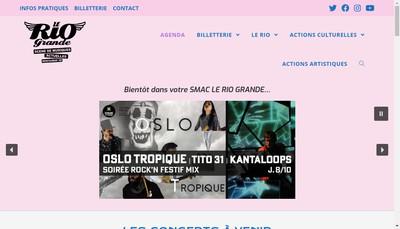 Site internet de Association le Rio