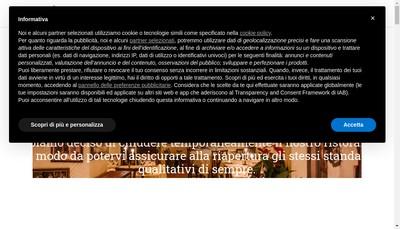 Site internet de La Giostra