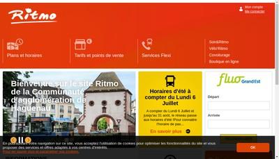 Site internet de Ritmo