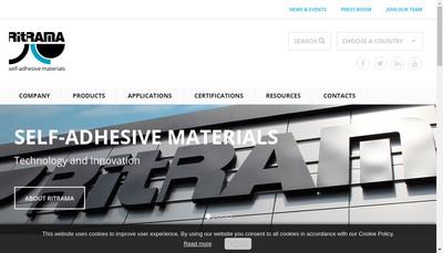 Site internet de Ritrama Spa