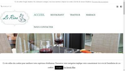 Site internet de Le Riva Plage