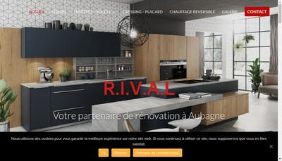 Site internet de RIVAL