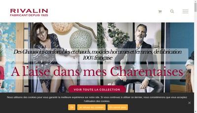Site internet de Societe Rivalin