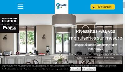 Site internet de Rivesaltes Alu
